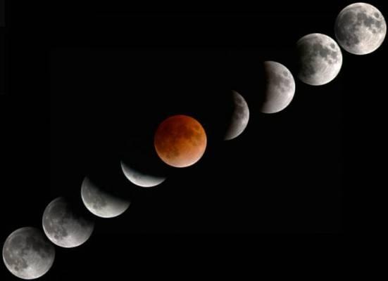 Eclissi di Luna e grande opposizione di Marte 27 Luglio 2018