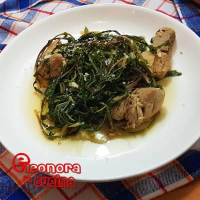 CICORINE SELVATICHE | CICUREDDHE A MANESCIA la ricetta salentina di Eleonora in Cucina - Eventi Salento