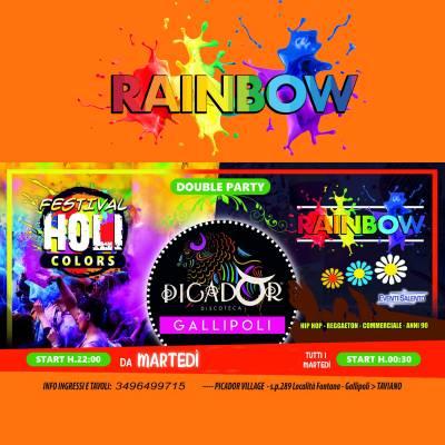 GALLIPOLI 2020 grandi eventi Rainbow Parti + Holi Colors Picador discoteca - Eventi Salento