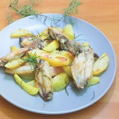 POLLO AL FORNO CON PATATE la ricetta di Eleonora in Cucina - Eventi Salento
