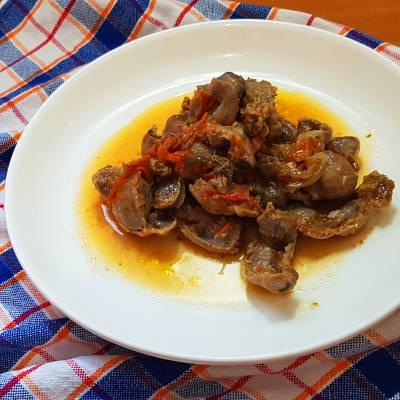 VENTRIGLI DI POLLO la ricetta salentina dei sciusceri di Eleonora in Cucina - Eventi Salento