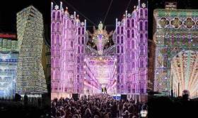 Salento capitale nel mondo: Trionfa con le luminarie in Spagna
