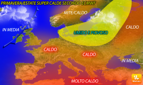 Estate 2016: Primavera-Estate dal caldo al super-caldo