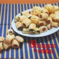 RUSTICI MIGNON ASSORTITI RIPIENI come quelli del bar | ricetta di pasta sfoglia Eleonora in Cucina - Eventi Salento