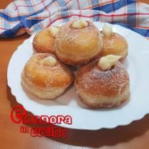 BOMBOLONI ALLA CREMA | donuts the recipe di Eleonora in Cucina - Eventi Salento