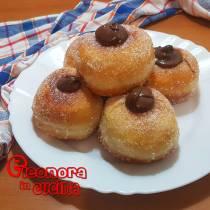 BOMBOLONI ALLA NUTELLA | donuts the recipe di Eleonora in Cucina - Eventi Salento