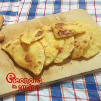 CALZONI DI PATATE IN PADELLA ripieni di prosciutto la ricetta di Eleonora in Cucina - Eventi Salento