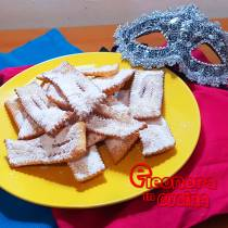 CHIACCHIERE DI CARNEVALE  bugie di carnevale la ricetta di Eleonora in Cucina - Eventi Salento