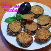 COTOLETTE DI MELANZANE ripiene al forno ricetta  - Eleonora in Cucina - Eventi Salento