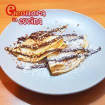 CREPES DOLCI ALLA NUTELLE ricetta fatta in casa in 5 minuti di Eleonora in Cucina - Eventi Salento