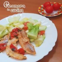 FILETTI DI MERLUZZO con pomodorini la ricetta - Eleonora in Cucina - Eventi salento