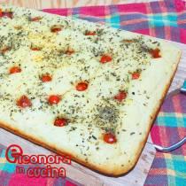 FOCACCIA PUGLIESE la ricetta originale di Eleonora in Cucina - Eventi Salento