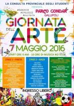 GIORNATA DELL'ARTE 2016 at Parco Gondar Gallipoli