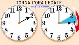 Ritorna l'ora legale 2016 Italia