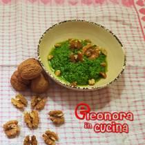 PESTO DI RUCOLA fatto in casa ricetta semplice e veloce di Eleonora in Cucina - Eventi Salento