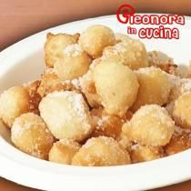 PITTULE CON CRISTALLI DI ZUCCHERO la ricetta delle pettole salentine di Eleonora in Cucina - Eventi Salento