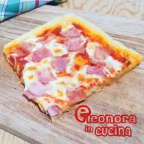 PIZZA IN TEGLIA alta croccante fuori e soffice all'interno ricetta di Eleonora in Cucina - Eventi Salento