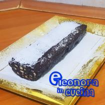 Salame di cioccolato - video ricetta Eleonora in Cucina - Eventi Salento