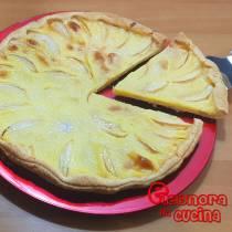 SFOGLIATA DI MELE torta pasta sfoglia la ricetta di Eleonora in Cucina - Eventi Salento
