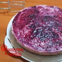 TORTA CHEESECAKE ai frutti di bosco la ricetta di Elenora in Cucina - Eventi Salento