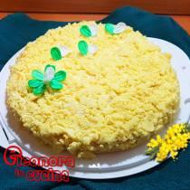 TORTA MIMOSA ricetta tradizionale dedicata alle donne la ricetta di Eleonora in Cucina - Eventi Salento