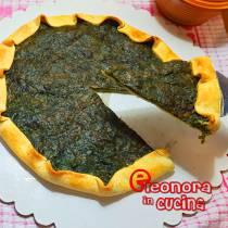 TORTA SALATA RICOTTA E SPINACI la ricetta di Eleonora in Cucina - Eventi Salento