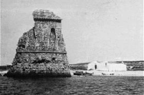 Torre Pali: Comune di Salve - situata a livello del mare