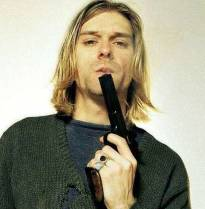 Kurt Cobain: Le foto inedite dell'arma del suicidio diffuse dalla polizia.